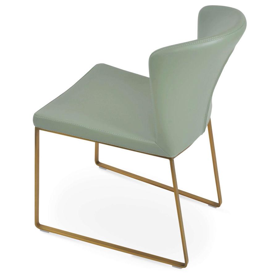 capri dining slide gold brass seat ppm s mint 502 14 7jpg