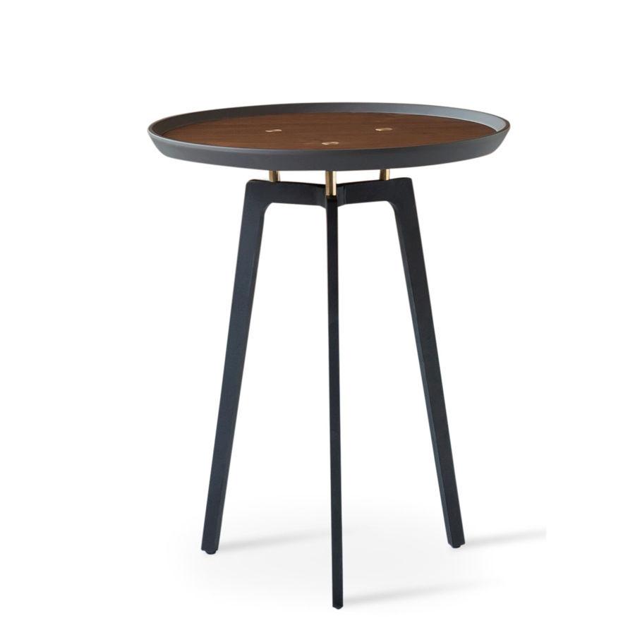 galaxy c coffee table walnut gray top black metal legs2jpg