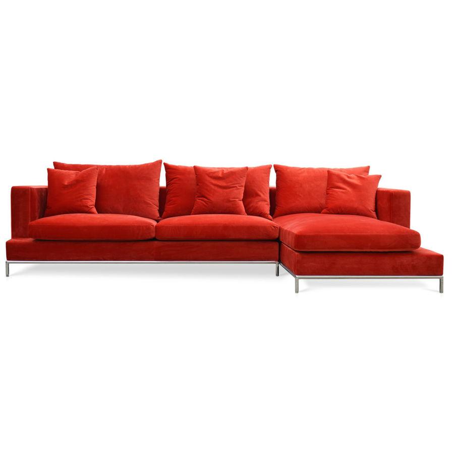 simena sectional velvet red 16 rhf hy bn38 color 16jpg