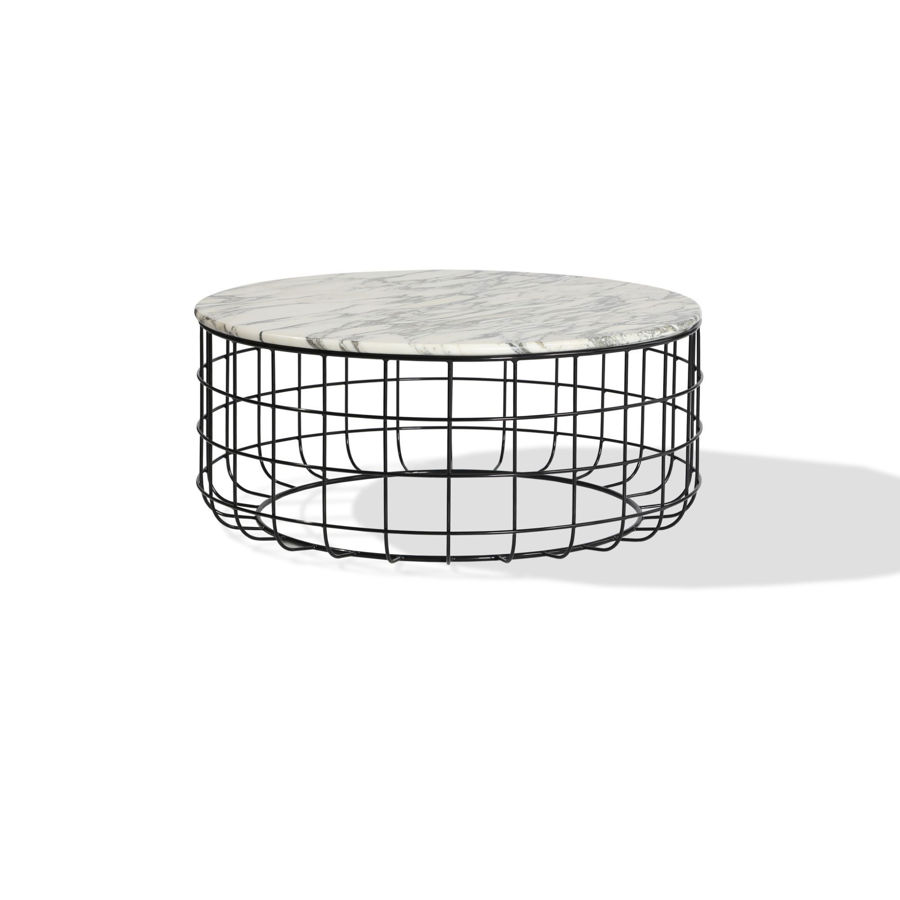 Picture of Violetta Marble Coffee Table White