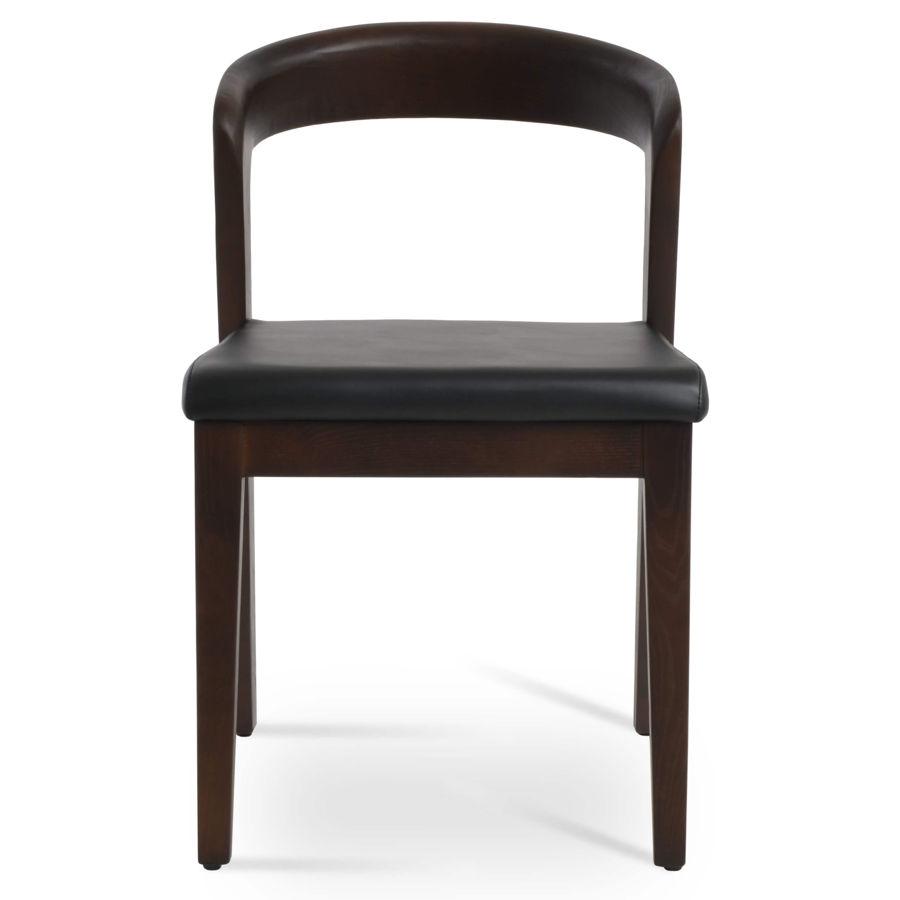 barclay chair solid ash walnut finish seat ppm s black 502 40 2jpg