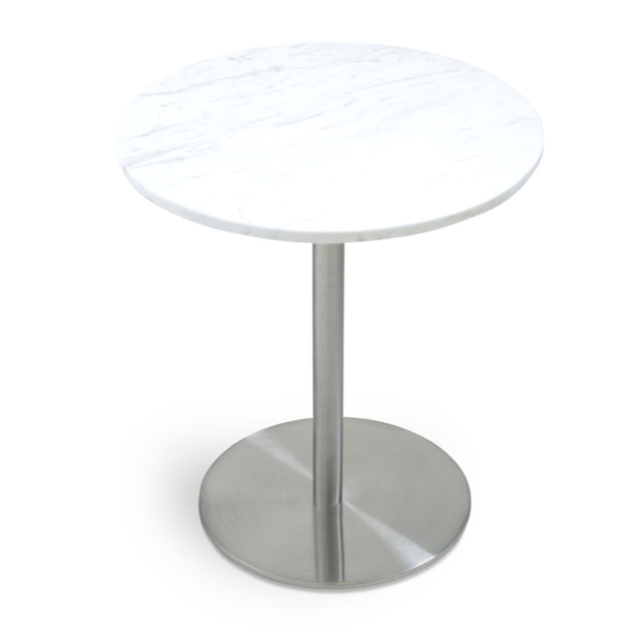 Picture of Ares End Table Marble S.Steel