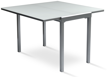 Picture of Modern Desk & Dining Table  Extendable - White