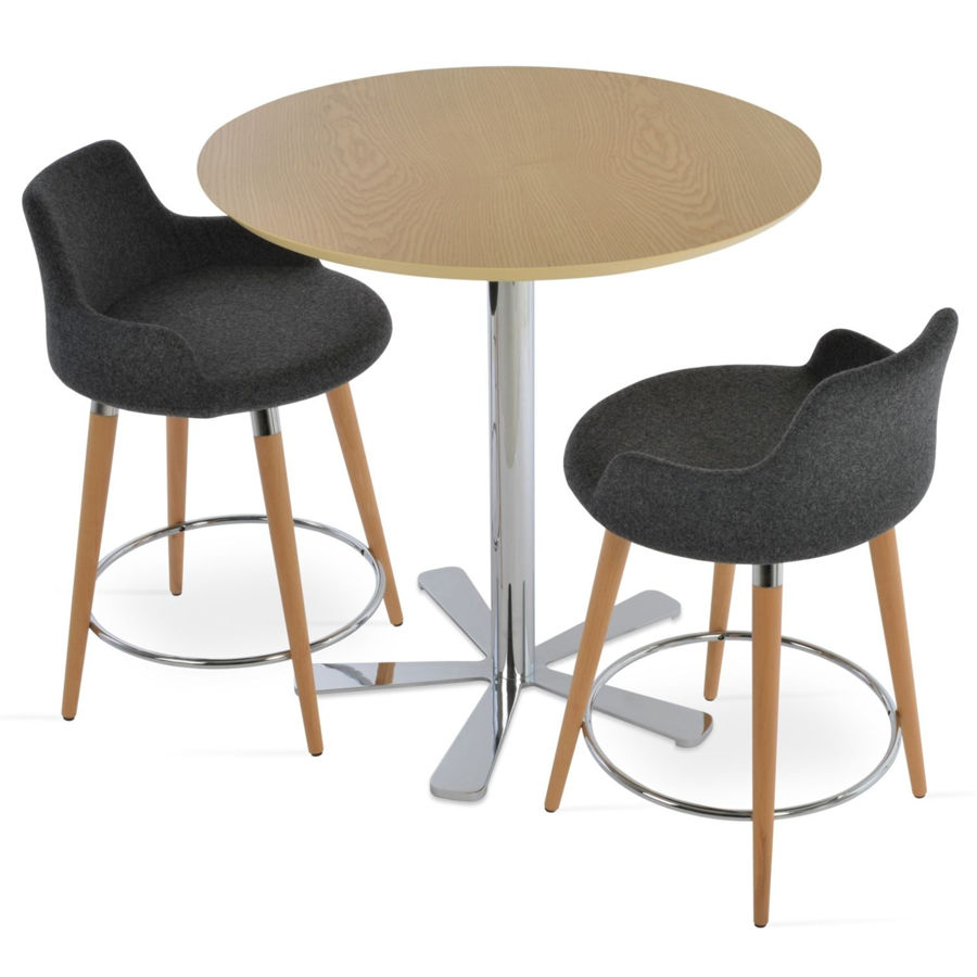 Picture of Daisy 5 Star Wood Bar Table