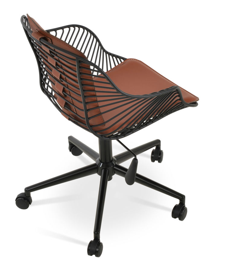 Picture of Zebra Arm Office Chair - Black