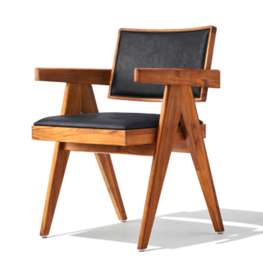Picture of Pierre J. Arm Chair Seat&Back- Upholsetery