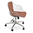 Picture of Zebra Arm Office Chair - Chrome
