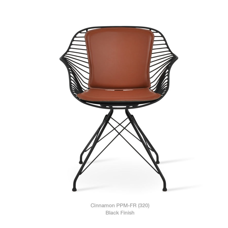 Picture of Zebra Arm Chair - Black