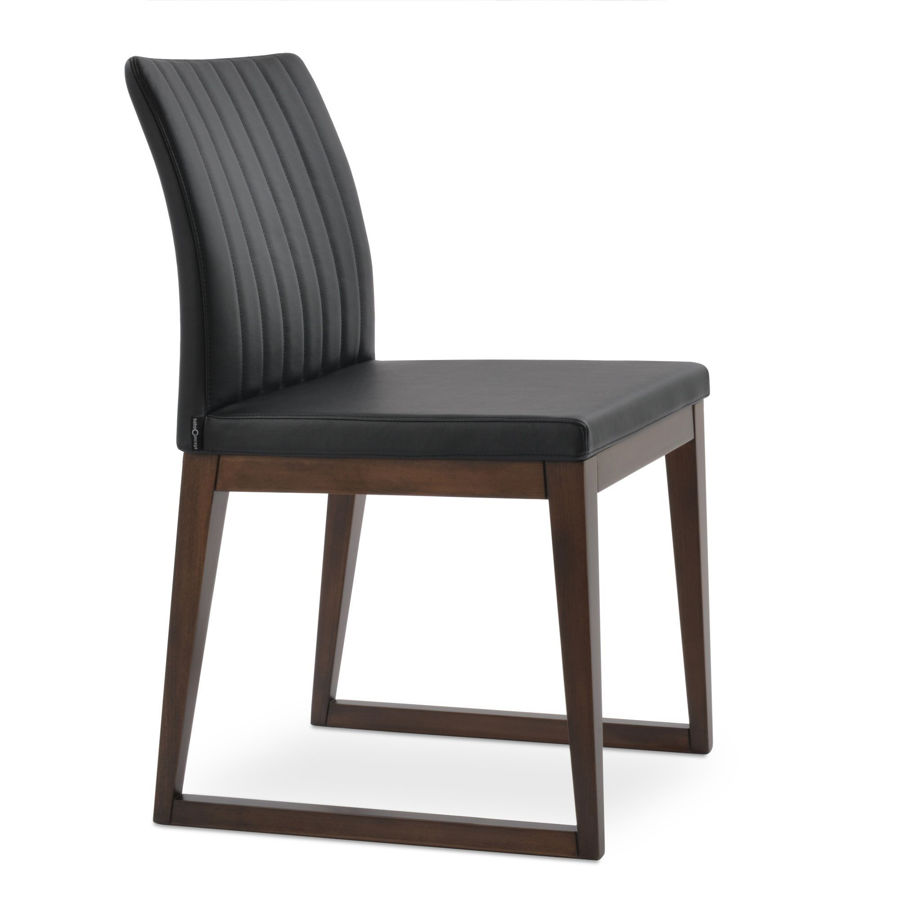 Picture of Zeyno Sled Wood Chair